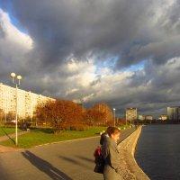 Длинные тени уже днем :: Андрей Лукьянов
