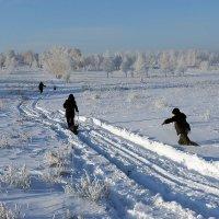 Зима вернулась к нам, Иркутск! :: Алексей Белик