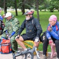 Матерые велосипедисты из Германии :: Светлана