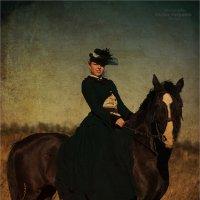 на конной прогулке :: Виктор Перякин