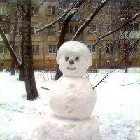 Снеговик :: Елена Семигина