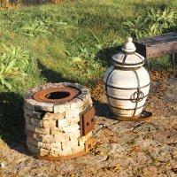 Печка, осень и шашлык..... :: Tatiana Markova