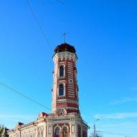 Восстановленная пожарная каланча :: Александр