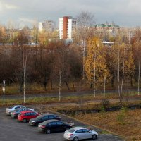 Осень в городе :: Наталья Лунева