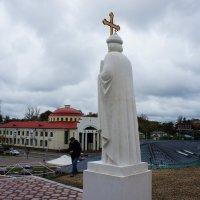 Вид на Волоколамск. Главная площадь города :: Елена Павлова (Смолова)