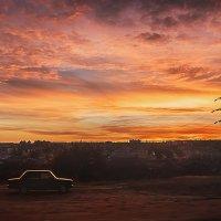 В Пятницу,даже небо,какое-то не обычно красивое))) :: Михаил Фенелонов