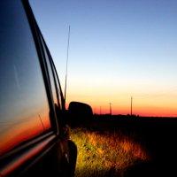 Дорога на закате дня :: Nata S