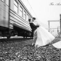 возле поезда :: Алена Бекетова