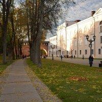 Осень в Новгородском Кремле (этюд 11) :: Константин Жирнов