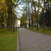 Осень в Новгородском Кремле (этюд 12) :: Константин Жирнов
