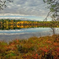 Осень и озеро Чёрное... :: Федор Кованский