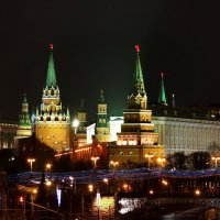 Башни Кремля :: Юрий Кольцов