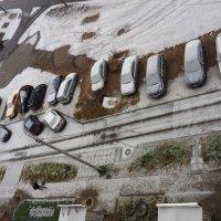 Вид сверху. Первые признаки зимы :: Владимир Шибинский