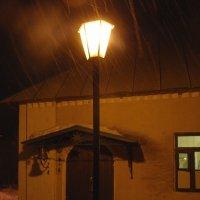 ночь, улица, фонарь :: sergej-smv