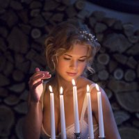 Вечер невесты... :: Юлия Шабеева