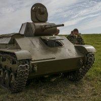 Легкий танк «Т- 70» :: Александр Крылов