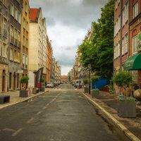 Пустая улица утром :: Игорь Вишняков