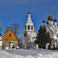 Церковь Сергия Радонежского в Комягино, 1670-е :: Дмитрий Анцыферов