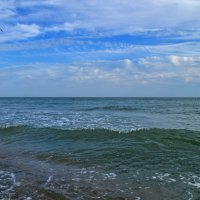 Раскинулось синее море.... :: Татьяна Кретова