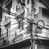 Post, street, wires.Pattaya. :: Илья В.