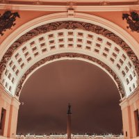 Александровская колонна :: MikhaeL_spb Клецов