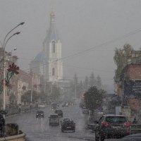 Первый снег в Рассказово :: Сергей