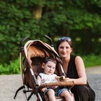 С малышом :: Serg Koren