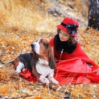 Дама с собачкой :: Алиса Бронникова