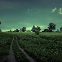 закат деревни... :: ВладиМер