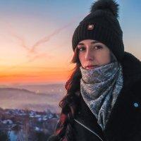 Зимний вечер :: Андрей Черкесов