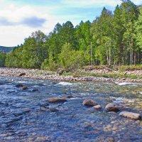 Река Слюдянка :: val-isaew2010 Валерий Исаев