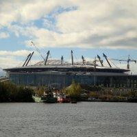 Строительство стадиона. :: Валентина Жукова