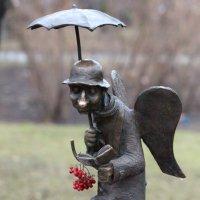 Грустный петербургский ангел... :: Елена Павлова (Смолова)