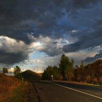 Вечер,солнце пробилось после дождя. :: Владимир Михайлович Дадочкин
