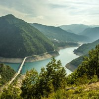 Мост. Река Пива :: Gennadiy Karasev