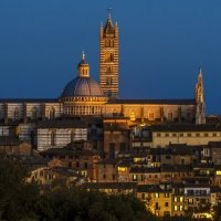 evening in Siena :: Dmitry Ozersky