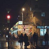 красный свет :: Евгений Молчановский