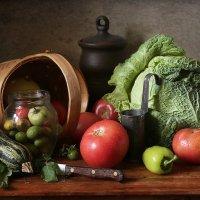 Сентябрьские овощи :: Татьяна Карачкова
