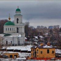 Церковь Иконы Божией Матери Оковецкая, 1821 :: Дмитрий Анцыферов