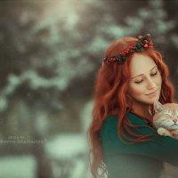 прогулка с рыжим котом :: Anastasia Anikeeva