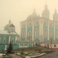 Смоленск.Туман на Соборном холме. :: Игорь