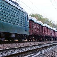 А мимо пролетают поезда. (2...) :: Александр Резуненко
