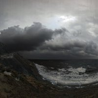 осенний шторм на закате :: viton