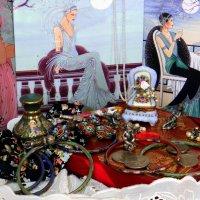 Настроение art nouveau, или забытая коробочка конфет... :: Елена