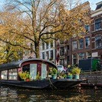 Плавающий дом, Амстердам :: Witalij Loewin