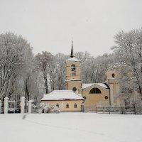 Спасское. Первый снег. :: Сергей Гришин