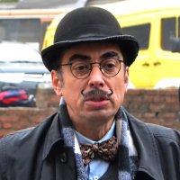 «Эркюль Пуаро» - литературный персонаж Агаты Кристи...2..........(«Встречи в городе Львов») :: Aleks Nikon.ua