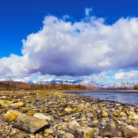 Река и облака :: Анатолий Иргл