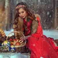 Русская красавица :: Анастасия Бембак