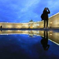 Вечер на Дворцовой :: Вера Моисеева